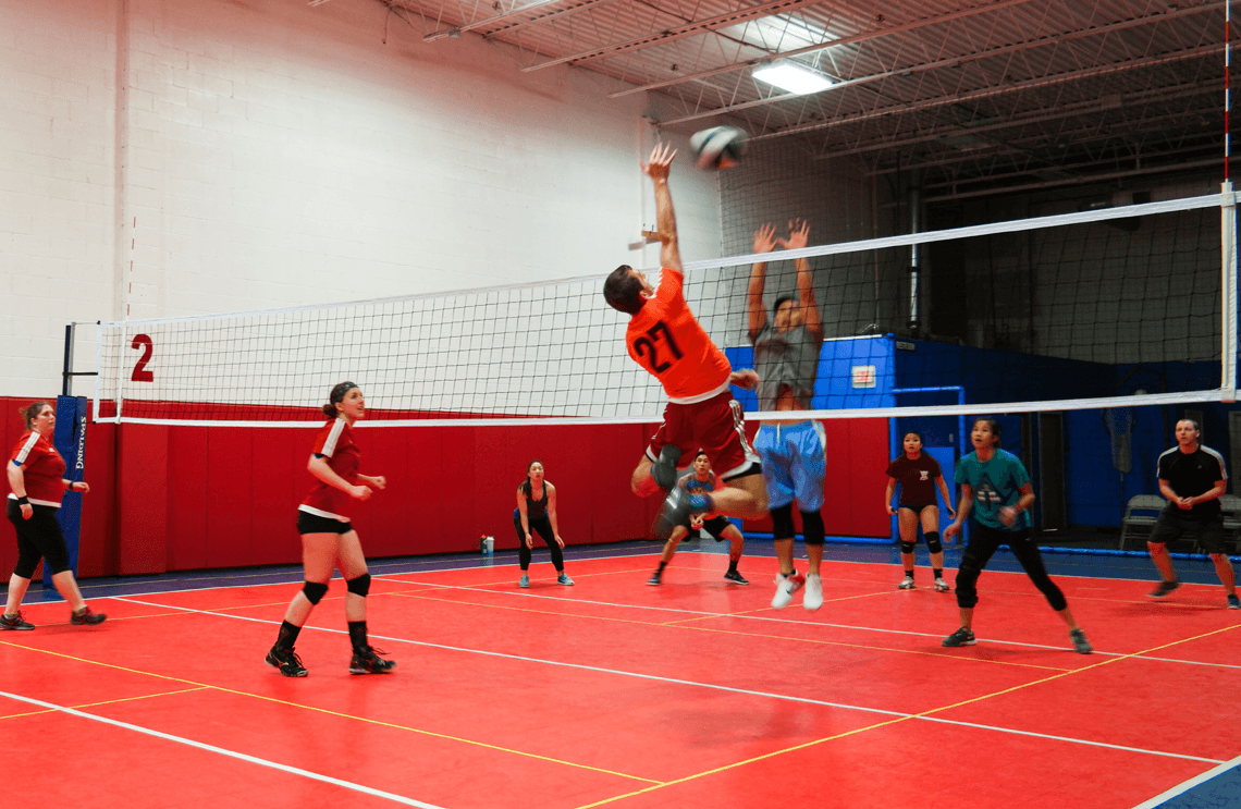 FXA Sports | Co-ed & Women\'s Adult Volleyball League 🏐