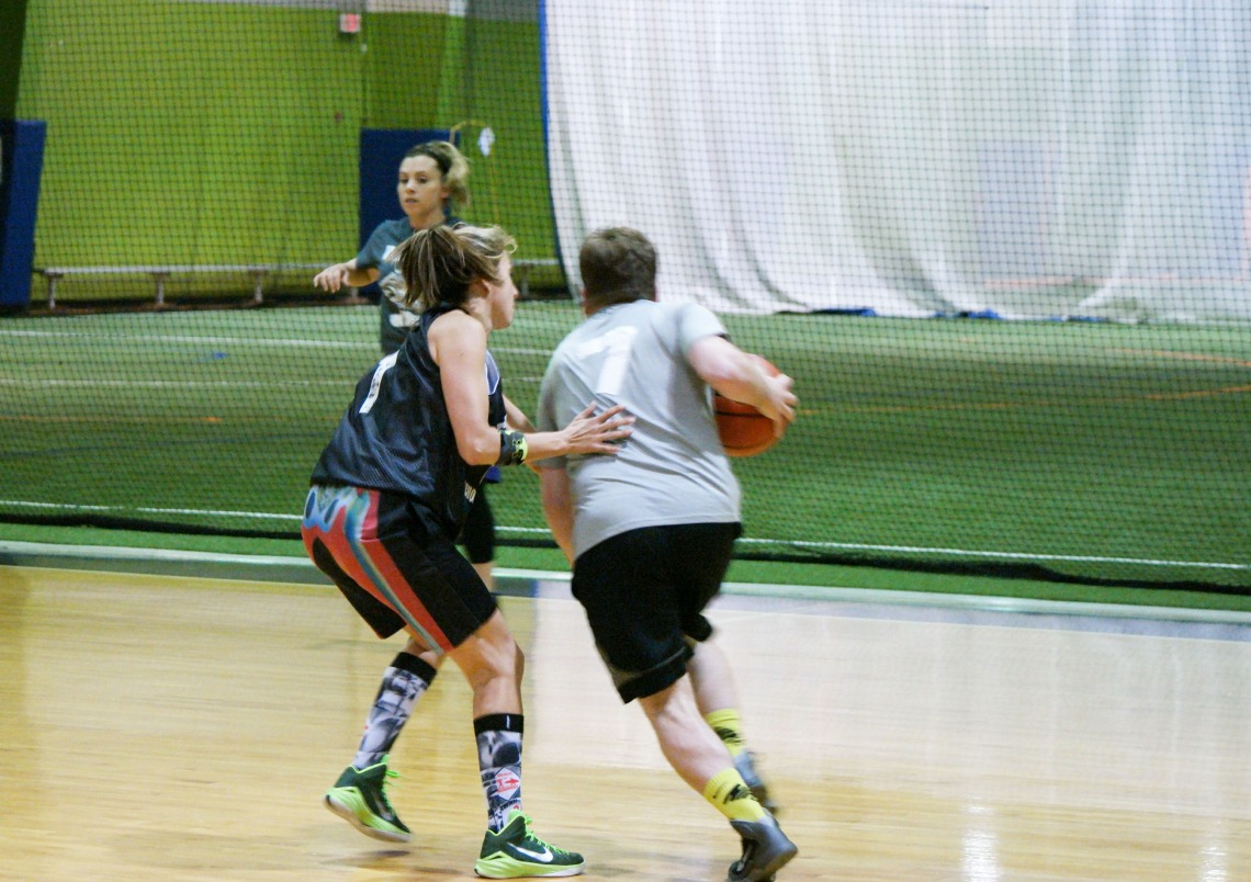 in leagues Adult va basketball